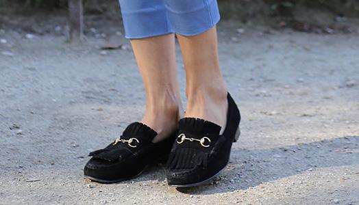 Les bonnes chaussures